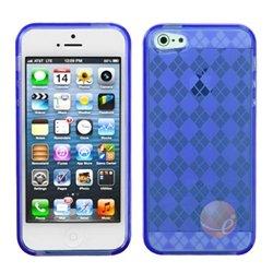MYBAT Dark Blue Argyle Candy Skin Cover compatible with Apple iPhone (Argyle Candy Skin Cover)