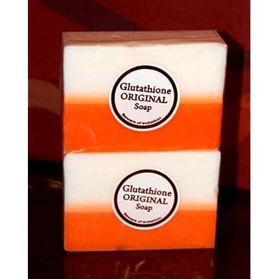2 Bars Kojic Acid & Glutathione Dual Whitening/bleaching Soap Appx. 5 Oz Each