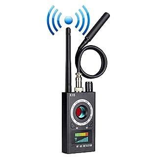 Anti Spy Camera Detector, RF Signal Bug Detector, Wireless Signal Pinhole Laser Lens GSM Detector Ultra-high Sensitivity Full-Range Tracker Finder
