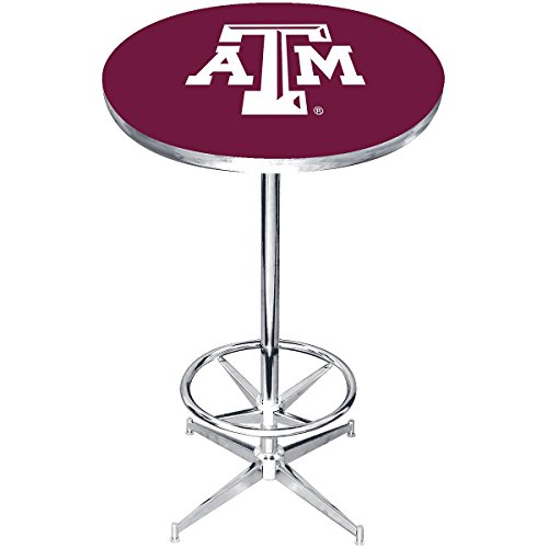 (Imperial Officially Licensed NCAA Furniture: Round Pub-Style Table, Texas A&M Aggies )