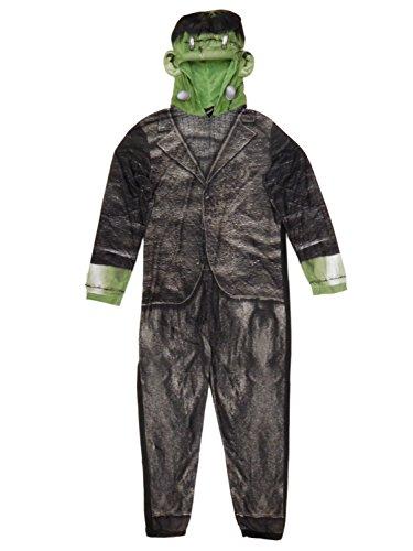 Adult Mens Frankenstein Onesie Union Suit One Piece Pajama Set (Medium / 38-40) (Mens Union Suit One Piece)