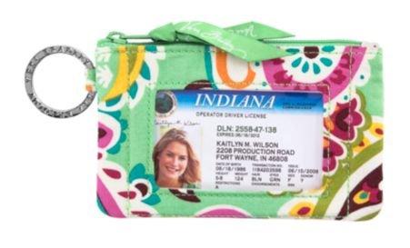Price comparison product image Vera Bradley Zip ID Case in Tutti Frutti