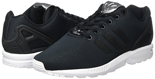 ... Black core Zx Flux silver Noir Basses Black Femme Adidas Metallic Baskets core 6ZqC0Hw ...