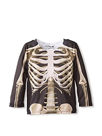 Tuxedo Morph Costume - Toddler: Skeleton Costume Tee Baby T-Shirt Size