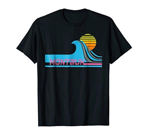 Blue Apparel Montauk (Montauk T-Shirt - Long Island Surfing Tee-Shirt)
