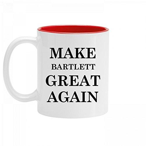 bartlett for america coffee mug - 1