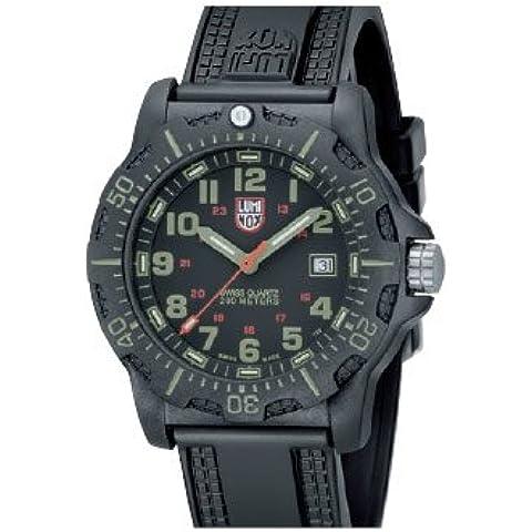 Luminox Navy SEALs Anniversary Series - Reloj analógico de caballero de cuarzo con correa negra -