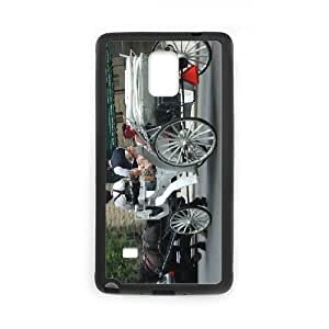 Samsung Galaxy Note 4 Cases Carriage, Samsung Galaxy Note4 Cases for Girls - [Black] Okaycosama