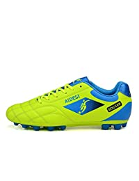No.66 Town Men's Women's Soccer Shoes AG Low-top Long Studs Training Cleats Non-Slip Sports Wear for Child