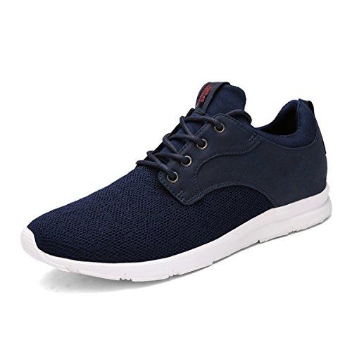 Laufschuhe Herren Damen Freizeitschuhe Turnschuhe Sneakers Sportschuhe Unisex Trainers Sport Shoes Schwarz 36 eJiWOK