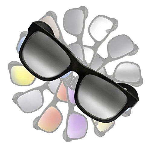 Gradient Grey to Clear Replacement Lenses for Ray Ban RB4165 Justin - Clear Bans Ray Lens