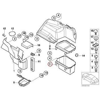 amazon bmw genuine lateral trunk floor trim panel battery 1996 BMW 528I Engine Diagram bmw genuine lateral trunk floor trim panel luggage partment liner right 320i 323ci 323i 325ci 325i 325xi 328ci 328i 330ci 330i 330xi m3