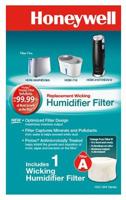 Honeywell HAC504V1 Replacement Filter For Natural Cool Moisture Humidifiers - Honeywell Natural