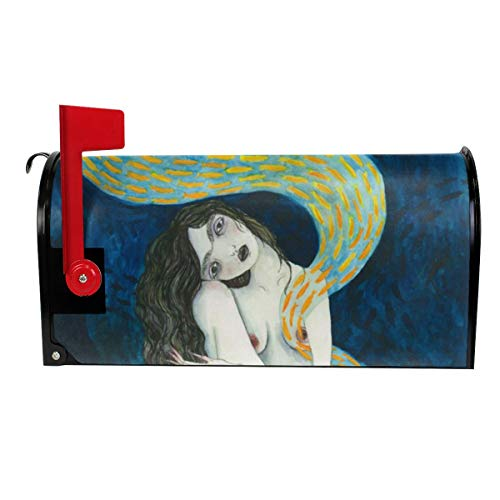 Tanyeflw Standard Size Mailbox Covers for Decor The Witching Hour]()