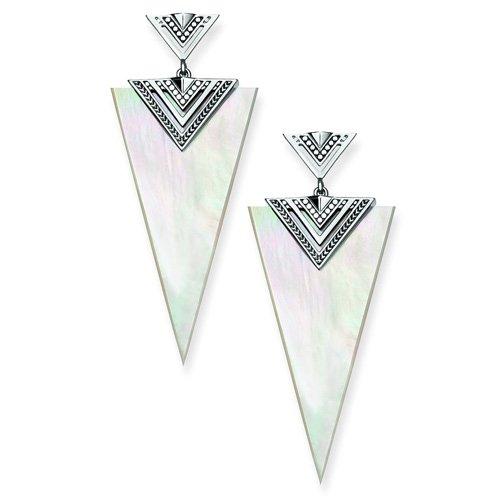 THOMAS SABO Femme  925  Argent #Silver    Blanc Nacre