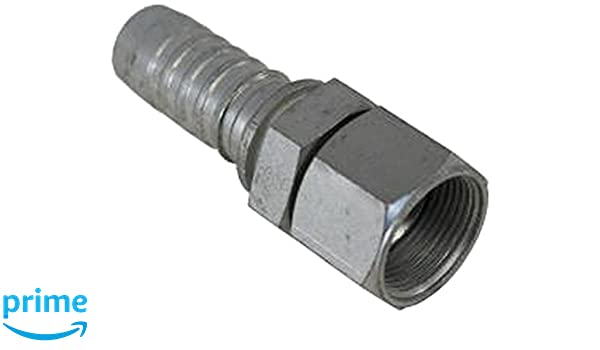 0.63 ID Brass 5//8 x 3//8 0.63 ID 5//8 x 3//8 Campbell Fittings BM-1006 Barbed Hose Male
