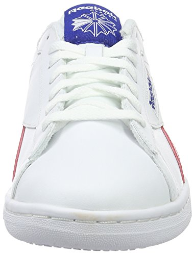 Bianco Red Scarpe Basse white Reebok Uk Royal collegiate Retro Uomo Npc Da Ginnastica excellent qBU8H