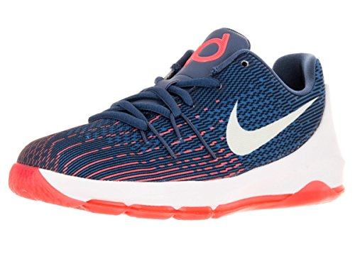 Nike Youth KD 8 Basketballschuh Ozean Nebel / Midnight Navy / Weiß