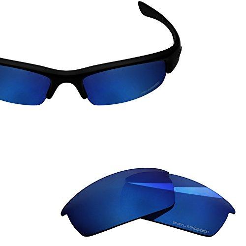 BlazerBuck Anti-salt Polarized Replacement Lenses for Oakley Bottlecap - Midnight - Bottle Cap Lenses Oakley