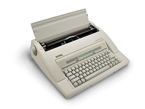 13'' Portable Electronic Typewriter with LCD Display, Spellcheck, and Memory