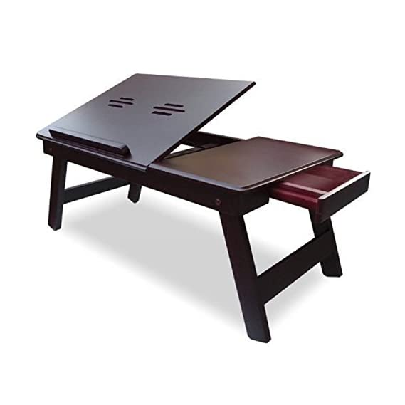 Callas Ventilated Height Adjustable Laptop Cooling Pad/Laptop Stand (Black; Pack of 1)