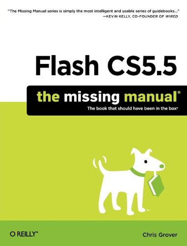 [PDF] Flash CS5.5: The Missing Manual Free Download | Publisher : Pogue Press | Category : Computers & Internet | ISBN 10 : 1449398251 | ISBN 13 : 9781449398255