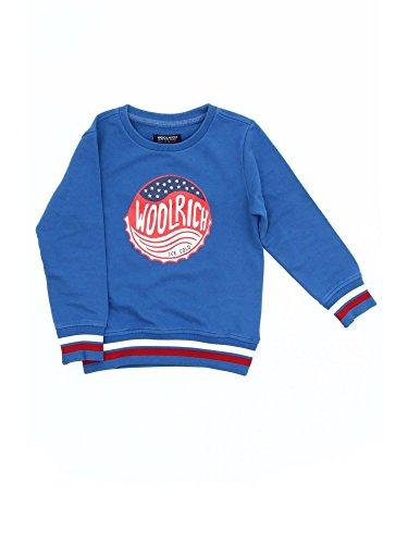 Wkfel1067 Bambino Woolrich 8a Felpe Blu OCwqnZ7q