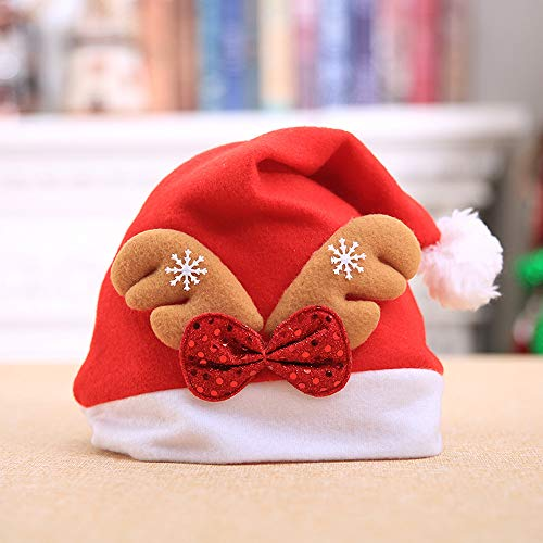 Gotian Christmas Holiday Hat Great for Holiday Party Christmas Decorations Pack of 1 (Splat Garden Art)