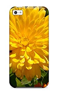 Hot Tpye Yellow Flowers Case Cover For Iphone 5c