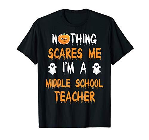 MIDDLE SCHOOL TEACHER Halloween Costume Gift T-Shirt -
