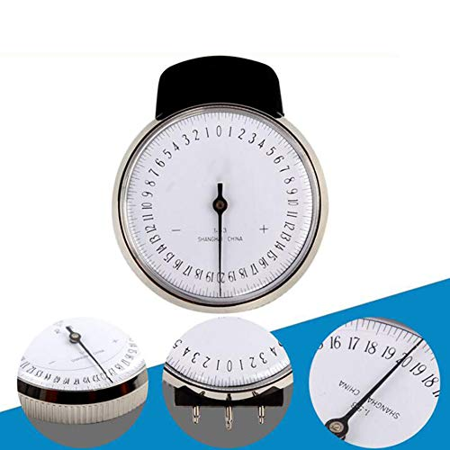 zinnor Lens Measurement Instrument Ophthalmic Lens Clock Base Curve Optician Lens Measurement