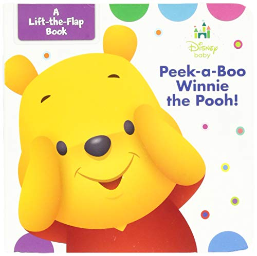 Disney Baby Peek-a-boo Winnie the Pooh - Peek A-boo Childrens Board Books