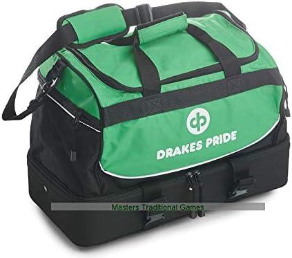 fd0cd85851f9 Amazon.com   Drakes Pride Pro Maxi Bowls Bag - Green and Black   Sports    Outdoors