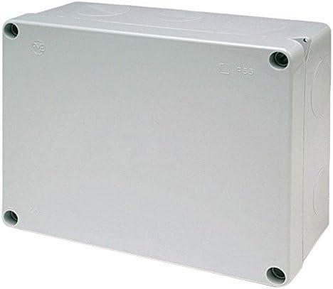 Famatel 3074 - Caja derivación estanca 220x170 tornillos: Amazon ...