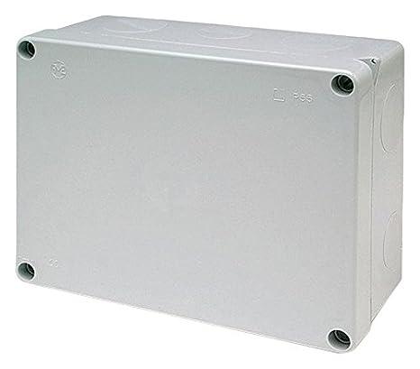 FAMATEL 3074 - Caja estanca 220x170x85 sin conos: Amazon.es: Bricolaje y herramientas