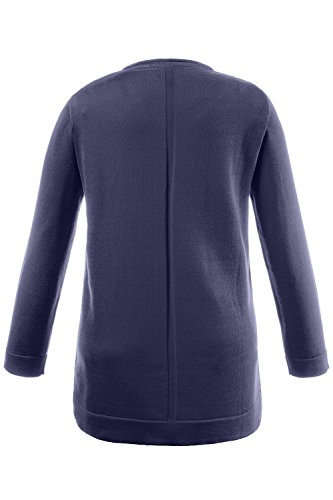 Pull Indigo Ulla Popken Neck Femme Pullover V 6x6vIwq1