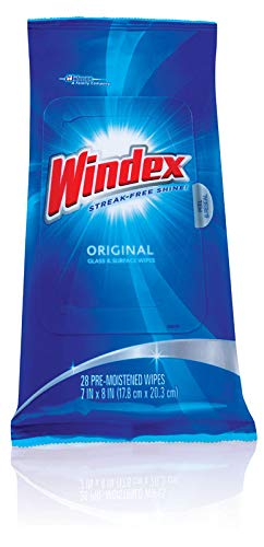Windex 70232 Original Windex® Glass & Surface Wipes 28 Count