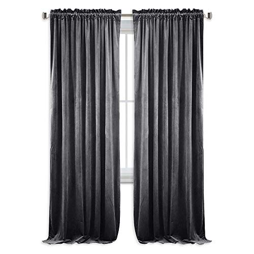 Top 10 Grey Velvet Curtains Of 2019 No Place Called Home