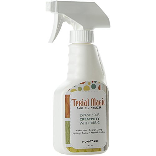 Terial Arts 8 oz Bottle Magic Fabric Spray, 8-Ounce (Stiffener Bow Hair)