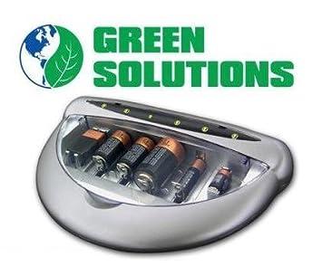 Amazon.com: Verde Soluciones universal cargador de batería ...