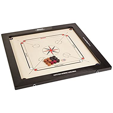 Surco Vintage Carrom Board with Coins and Striker, 8mm