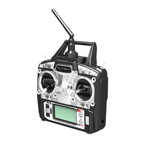 - FlySky 2.4GHz 6 Channel Digital Transmitter and Receiver Radio System
