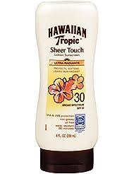 Hawaiian Tropic Sheer Touch, Lotion Sunscreen Ultra Radiance SPF 30, 8 oz