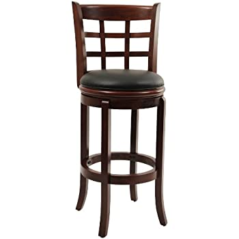 Boraam 41229 Kyoto Bar Height Swivel Stool 29-Inch Cherry  sc 1 st  Amazon.com & Amazon.com: Boraam 48829 Augusta Bar Height Swivel Stool 29-Inch ... islam-shia.org