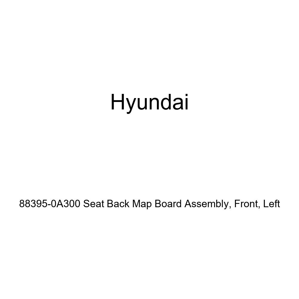 Front Left Genuine Hyundai 88395-0A300 Seat Back Map Board Assembly