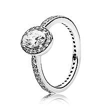 Pandora Ring 191017CZ-50 Silver Woman Vintage Elegance