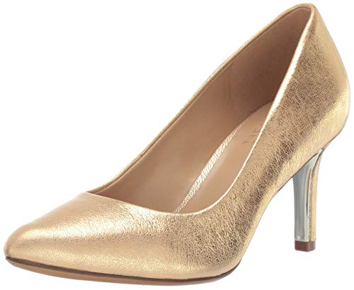 (Naturalizer Women's Natalie Pump, Gold, 9.5 M US)