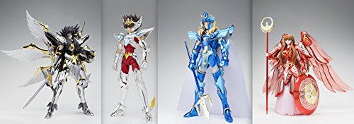 Tamashinations Saint Cloth Myth: Athena, Hades, Poseidon and Pegasus Seiya 15th Anniversary Figure Set