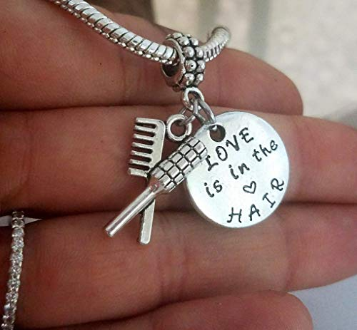 list Barber charms pendant- For charm bracelet and chain necklace ()