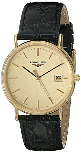 Longines Men's L47202322 Presence Collection Watch